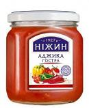 Nezhin Hot Adjika with Garlic and Spices, 15.87 oz / 450 g