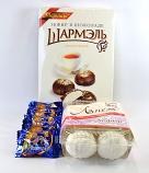 Russian Marshmallow Assortment Set - La Neige, Charmelle, and Slavyanka Factories