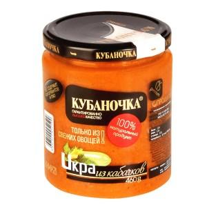 Zucchini Caviar, Kubanochka, 1.01 lb/ 460 g