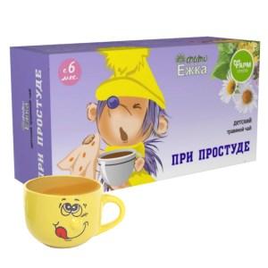Children's Herbal Tea for Colds, Phytoezhka, 20 bags x 1.5 g