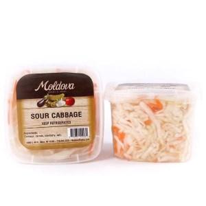 Sour Cabbage (Sauerkraut), 12 oz / 340 g (Moldova Pickles)