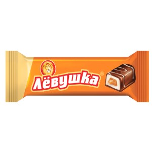 Levushka Chocolate Bar with Filling, Slavyanka, 40 g/ 0.088 lb