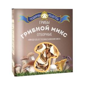 Dry Mushrooms Forest Mix Box, 25gr