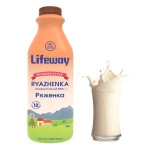Lifeway Ryazhenka, 32 oz / 0.94 L