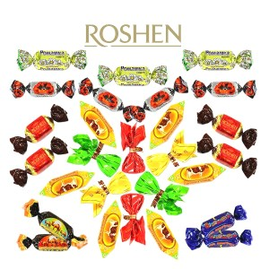 Assorted Chocolate Candy by Roshen Factory, 1 lb / 0.44 kg
