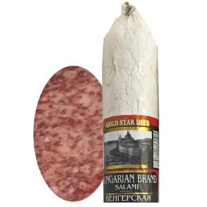 Hungarian Brand Salami Chunk, 0.9 lb / 0.4 kg