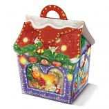 """Chocolate Candy Assortment """"By the Fireplace"""" Christmas & New Year Gift, 35.27 oz / 1000 g"""