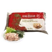 Cod liver and roe pate, 4.3 oz/ 120 gr