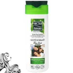 Conditioner for All Hair Types, Birch, Pure Line, 230 ml/ 7.78 oz
