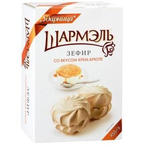 Zefir Marshmallow Creme Brullee Flavor, Sharmel, 8.82 oz/ 250 g