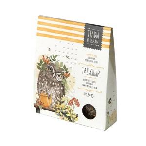 Taiga Herbal Tea (Herbs & Bees), 2 x 40 g (1.41 oz)