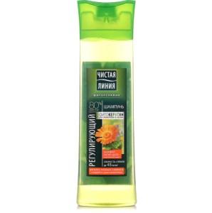 Shampoo Regulating with Phyto-Keratin, Sage, Bur Marigold and Yarrow for Oily Hair, 13.52 oz / 400 ml