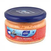 Capelin caviar with smoked salmon in sauce 6.35 oz/ 180g
