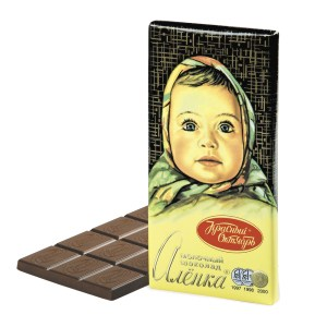 Alenka Milk Chocolate, 3.52 oz / 90 g