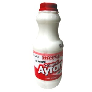 Original Sour Yogurt Drink Ayran, 16.68 oz / 473 ml