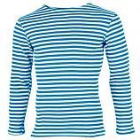 Summer Long Sleeve Russian Telnyashka Shirt, size 52-54 (European L)