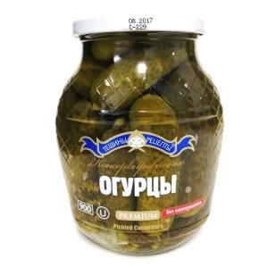 Pickled Cucumbers Premium, Teshcha's Recipes, 900 g