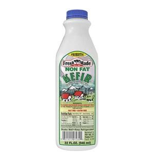 Non Fat Kefir Fresh Made, 32 oz / 0.94 L