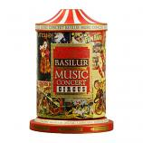 Basilur Black Tea Music Concert Circus, Tin Caddy, 3.53 oz / 100 g