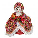 Handmade Tea Cozy Barinya Doll with Roses