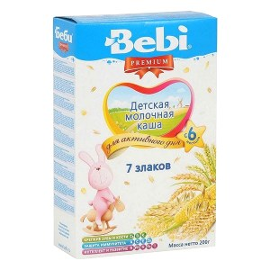 Bebi Premium Milk Porridge 7 Grains, 7.05 oz / 200 g
