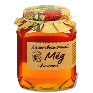 Honey Far Eastern Floral, Kedroviy Bor, 500g