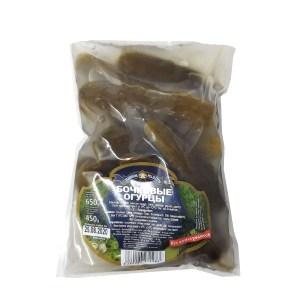 Marinated Cucumbers in Brine, Teshcha's Recipes, 650 g (soft pack)