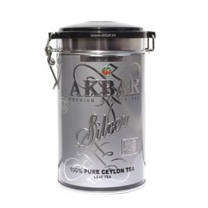 Akbar Silver Pure Ceylon Leaf Tea, 300 g