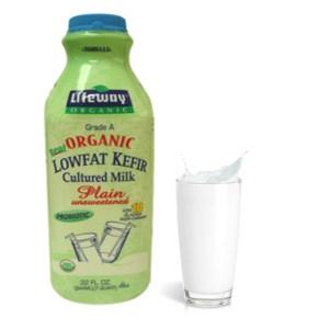 Lifeway Low Fat Kefir Plain Unsweetened, 32 oz / 0.94 L