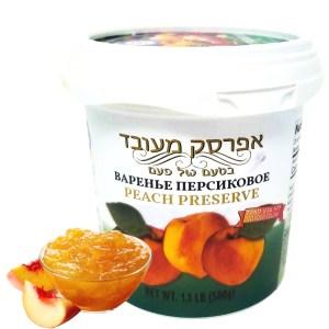 Homemade Style Peach Preserve, 17.63 oz / 500 g