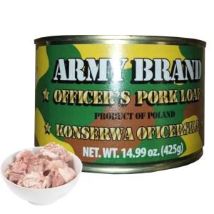 Tushonka Pork Loaf, Army Brand, 0.94lb/ 425g