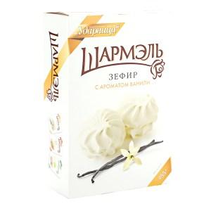 Zefir Marshmallow Vanilla Flavor, Sharmel, 8.82 oz / 250 g