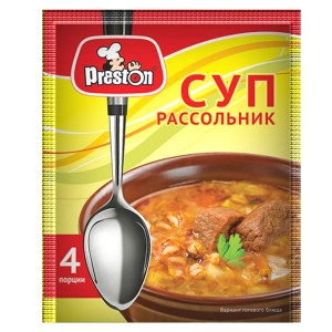 Rassolnik Soup (10 minutes of cooking), 0.11 lb/ 50g