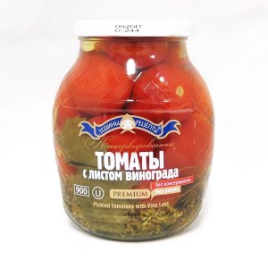 Pickled Tomatoes with Vine Leaf, Teshcha's Recipes, 1.98 lb/900 g