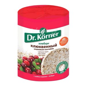 Crispbread with Cranberries, 3.5 oz / 100 g (Dr.Korner)