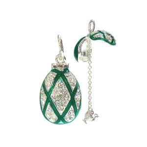 Locket Pendant Rhombus (green), 1