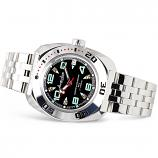 Vostok Amphibian Russian Military Diver's Mechanical Men's Watch (710334)