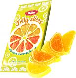 Jelly Fruit Candies with Lemon & Orange Flavors, 7.05 oz / 200 g