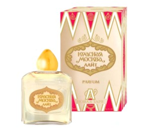 Perfume Krasnaya Moskva Light (Red Moscow or Moscou Rouge Light), 7ml
