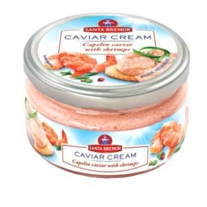 Capelin Caviar Spread with Shrimps, 6.35 oz / 180 g