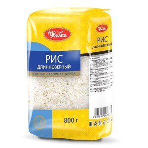 Uvelka White Long Grain Rice, 28.22 oz/ 800 g for pilaf