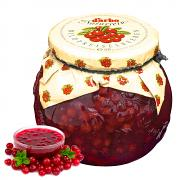 Homemade Wild Lingonberry Preserves, 21.1 oz / 625 g