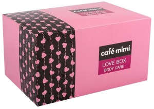 Gift set for Body Care Love Box Body care Cafe mimi
