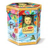 "Alenka Christmas & New Year Gourmet Russian Chocolate Candy Assortment Gift ""Precious Moments"", 14.10 oz / 400 g"