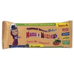 Fruit Bar Masha and the Bear Immuno-bar, Dr. Fruit ® , 25 g/ 0.055 lb