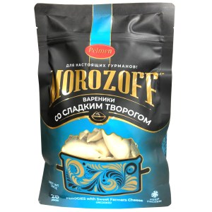 Sweet Curd Vareniki, Morozoff, 28 oz