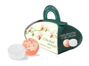 Glycerin Soap Bubble Bath Ball Gift set Orchid Magic