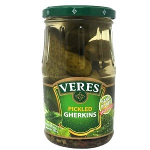 Pickled Cucumbers, Veres, 770 g/ 1.7 lb