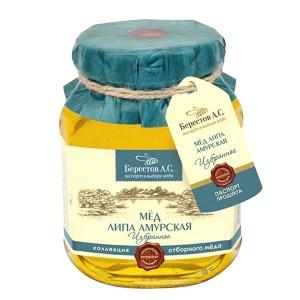 Natural Amur Linden Honey, 17.53 oz / 500 g
