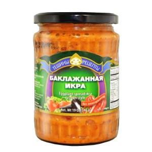 Eggplant Caviar, Teshcha's Recipes, 1.19 lb/ 540 g